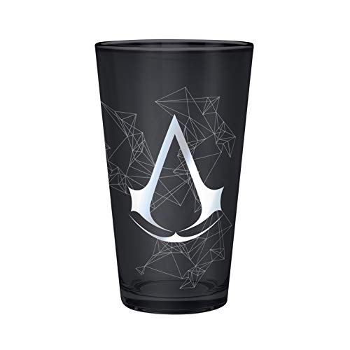 ABYstyle - ASSASSIN\'S CREED - Glas XXL - 500 ml - Assassin - Metallfolie