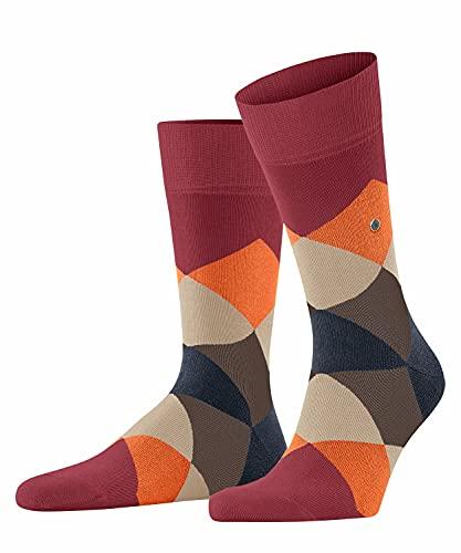 Burlington Herren Clyde M SO Socken, Rot (Ruby 8830), 40-46
