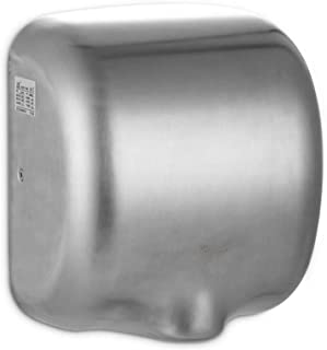 OMLTER Automatic Hand Dryer, Stainless Steel Intelligent Control Hand Dryer, Suitable for Family Public Areas, Etc, Ultra-Quiet High-Speed Blower, Innovative and Compact Design, Easy to Install