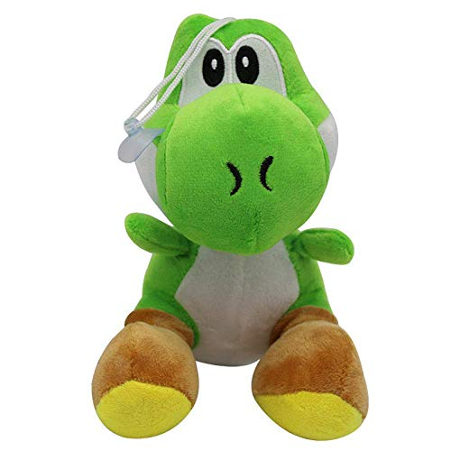 JIAL OmeDecor 1 Piece 17Cm Soft Cartoon Super Mario Bros Stuffed Doll Yoshi Super Mario Plush Toy-Green chongxiang