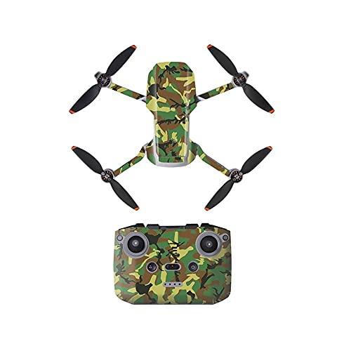 GEBAN Adesivi Impermeabili in PVC per D&Ji per Mavic Mini Drone Body Skin Arm Remote Control Decalcomanie Vola più Accessori Combinati Accessori droni (Color : G)