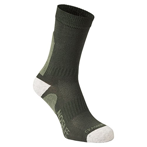 Craghoppers Damen Nlife Advent Socken, Parka Grün, 3-5
