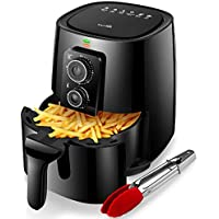 KitCook 4.2 Quart Healthy Oil-Free Air Fryer Easy Operation with Simple Knob Controls