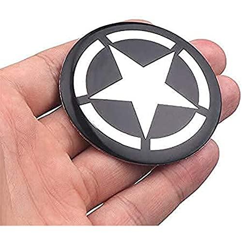 Auto Alloy Wheel Center Radkappenabdeckungen, FüR Jeep Renegade Compass Patriot Wrangler, Abzeichen Staubdichte Abdeckung Radverkleidungssatz Car Styling Accessori