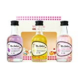British Gin Liqueurs by Mrs Cuthbert's - Gin Gift Set Includes 3 x