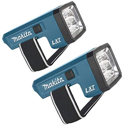 Makita DML186 18 Volt Rechargeable Fluorescent LED Flashlight Torch Body Only. (Pack of 2)