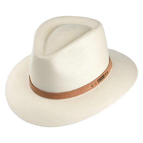 Village Hats Chapeau Fedora Safari Panama Cordoba Naturel Signes - Large
