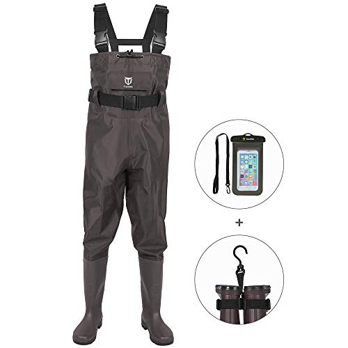 Top 15 fishing waders for men with boots size 10 for 2021