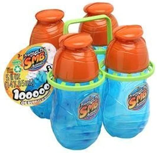 barato Super Miracle Bubbles 4 - Pack with Carrier Carrier Carrier by Imperial Toy Inc.  seguro de calidad