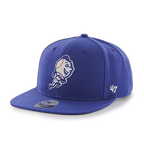47 - MLB New York Mets Sure Shot '47 Captain - Casquette de baseball Mixte adulte, bleu (Royal), Taille unique