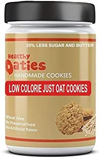 Healthy Oaties Cookies Handmade Low Calorie Just Oats Digestive Cookies (25%Less Sugar and Butter)- 270 GMS