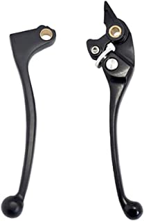Lefossi Motorcycle Replacement Brake Clutch Hand Lever Sets Pairs For Honda CBR 600 F1/F2/F3/F4/F4i 1987-2007 CBR 900 RR 1993-1999 CB 900 919 Hornet 2002-2006 CB 600 Hornet 1998-2006 Black