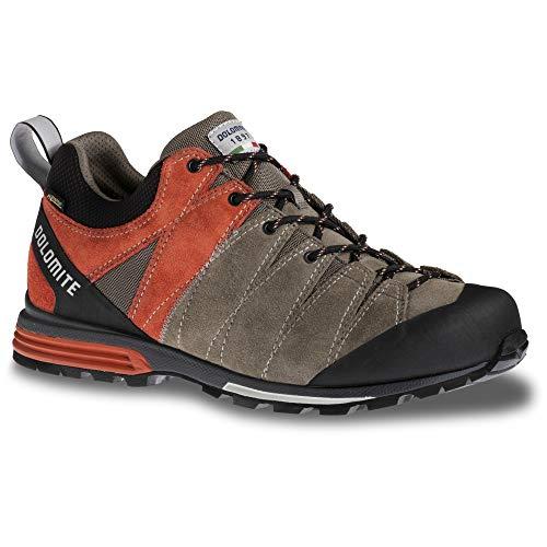 Dolomite Zapato, Scarpa Diagonal PRO GTX Unisex-Adulto, Mud Grey Ochre Red, 37 1/3 EU