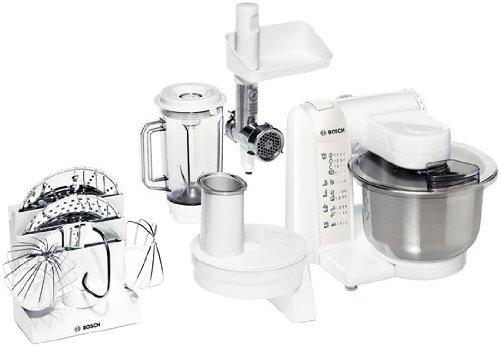 Bosch Hausgeräte MUM4875EU Bosch Küchenmaschine (Mum 4875 EU), Rostfreies Metall, 3.9 liters, Weiß