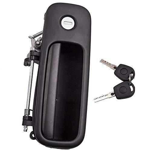 maXpeedingrods Heckklappengriff Griff mit Schloss + 2X Schlüssel für Golf 3 4 Polo Sharan Caddy 1J6827565B