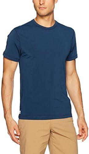 Tom & Teddy Men's Standard Short Sleeve UPF 50+ Rashguard