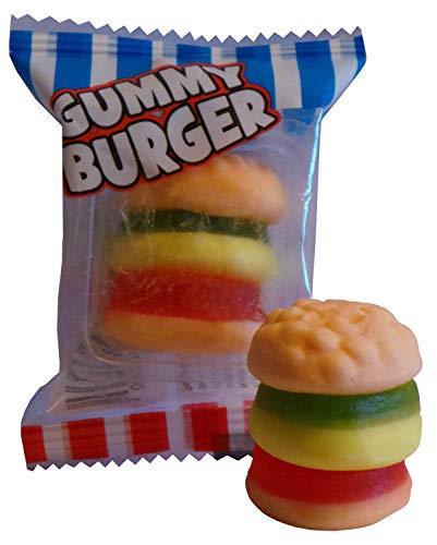 Crazy Candy Factory Mini Gummy Burger Sweets (20 meegeleverd)