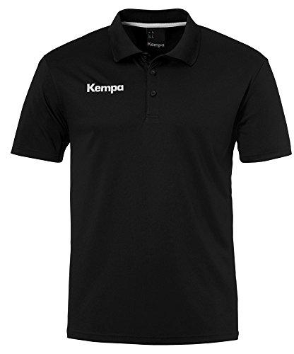 FanSport24 Kempa Handball Polyester Poloshirt Kinder schwarz Größe 152