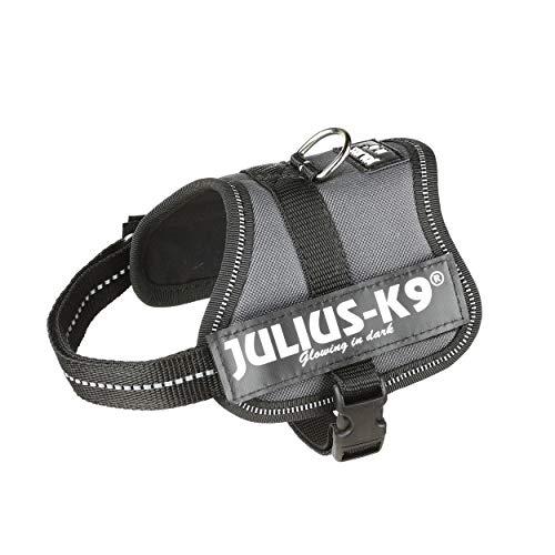 Julius-K9, 162ANT-BB2, K9-Powergeschirr, Größe: 2XS / Baby 2, anthrazit