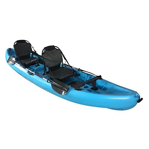 Cambridge Kayaks ES, Sun Fish TÁNDEM SÓLO 2 + 1, Azul, RIGIDO