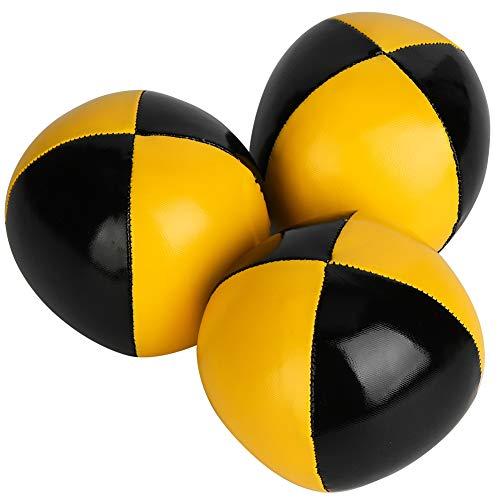 VGEBY Thud Juggling Balls 3PCS Malabares Bolas Payaso Jugando Malabares Ball Set Malabares Ball para Principiantes