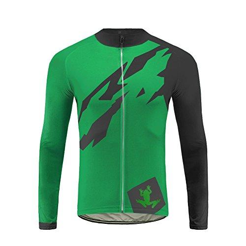 Uglyfrog Herren Fahrradtrikot,Winter Wear Outdoor Männer Langarm Jacket Radtrikot Jersey/Fahrradbekleidung,Schnell Fahrradkleidung Für Rennrad,Radsport