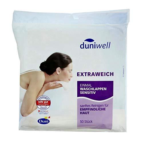 Duniwell 600 Stück Extraweich Einmalwaschlappen sensitiv