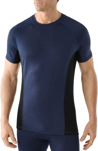 Smartwool NTS SL626 T-Shirt léger pour Homme Bleu Marine Taille L