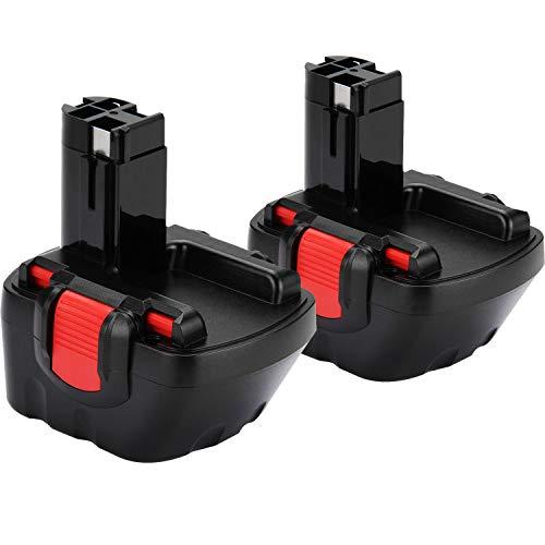 [2 pezzi] Shentec 12V 3.5Ah Ni-MH Batteria per Bosch PSR 12 BAT043...