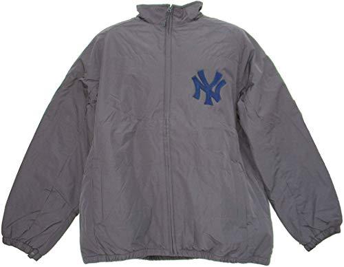 Majestic Athletic New York Yankees Men's 2X-Large 2XL Full Zipper Jacket - Gray