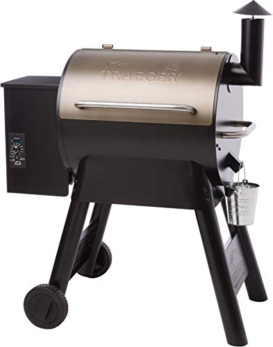 Traeger Grills TFB57PZBO Pro Series 22 Pellet Grill and Smoker, 572 Sq. In. Cooking Capacity, Bronze