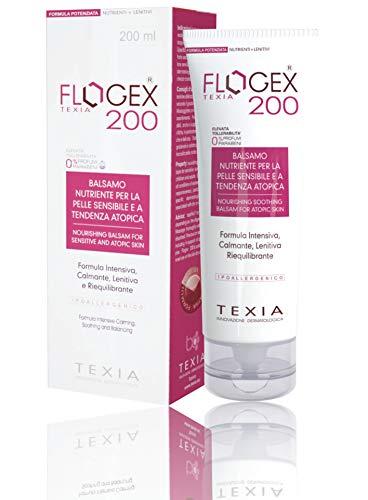 FLOGEX 200 Coadiuvante completo nella Dermatite Atopica. Rende subito la pelle elastica e compatta grazie alla formula ricca in lipidi e strutturanti. 200 ml.