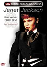 Janet Jackson - The Velvet Rope Tour (Live in Concert) (DTS) by Eagle Rock Ent by David Mallet