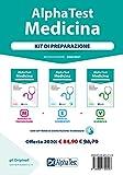 Alpha Test. Medicina. Kit di preparazione: Manuale di preparazione-Esercizi commentati-Prove di verifica