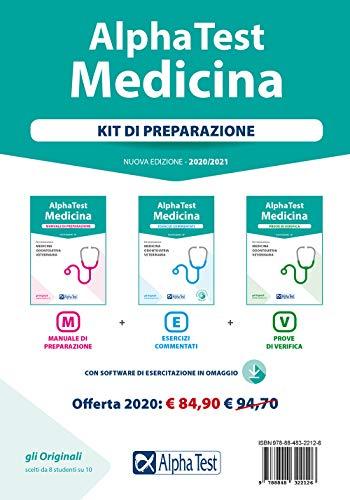 Alpha Test. Medicina. Kit di preparazione: Manuale di preparazione-Esercizi commentati-Prove di verifica. Con software di simulazione