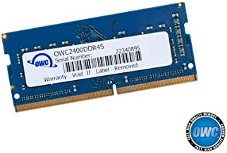 OWC 4GB 2400MHZ DDR4 SO-DIMM PC4-19200 Memory Upgrade for 2017 iMac 27 inch with Retina 5K Display, (OWC2400DDR4S4GB)