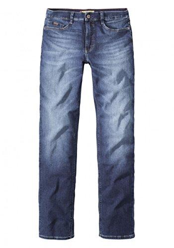 Paddocks`s Herren Jeans Ranger - Slim Fit - Blau - Blue Dark Moustache Used, Größe:W 44 L 30, Farbe:Blue Dark Moustache Used (0813)