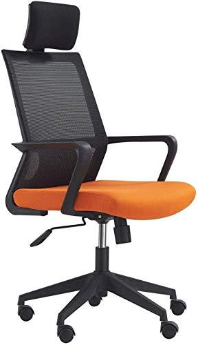 Computerstuhl, Home Office Swivel Stuhl Personal Einfache Armlehnenstuhl Rückenlehne Maschensitz 360 Grad Schwenk Sessel