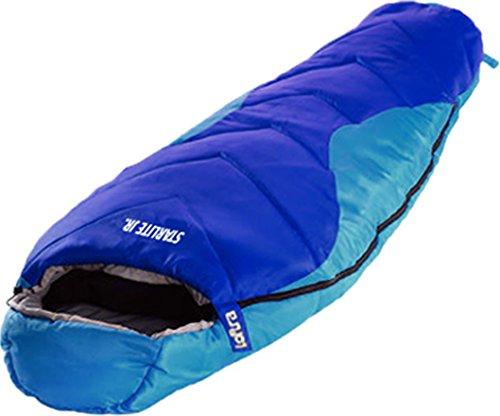 LOFTRA Kinder Schlafsack STARLITE JUNIOR 170x70cm +11°C Mumienschlafsack Camping Outdoor Explorer