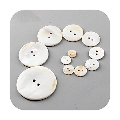 Buttons Camisa de agua dulce natural con botón de costura de textura al por mayor madre de perla mopa para ropa, manualidades de bricolaje, accesorios-18.0 mm (50 unidades)