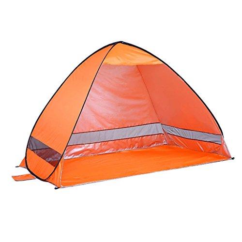 KEKEYANG Tent, Pop-up contra los Rayos UV Cabana Beach Abrigo de la Tienda 2 Persona Portable de la Pesca al Aire Libre Canopy se instala en Segundos 200 x 120 x 130 cm Cámping,