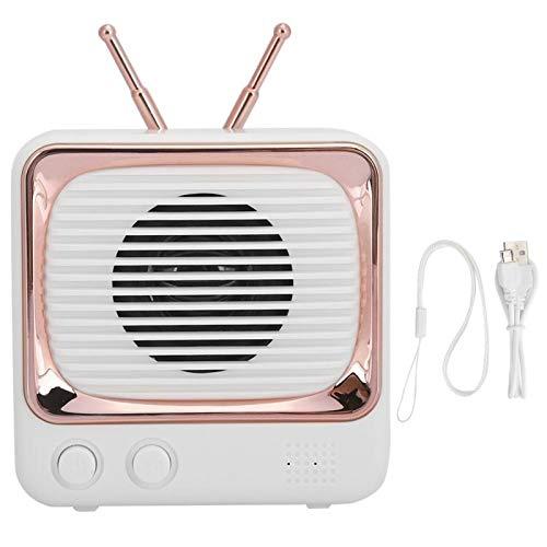 HaoZUyouxuankj Altavoz Bluetooth, Mini altavoz inalámbrico Bluetooth, sonido portátil USB Flash Disk Tarjeta de memoria Play Manos libres Llamada (rosa)