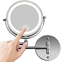 Makeup Mirror With Led Light wall mount