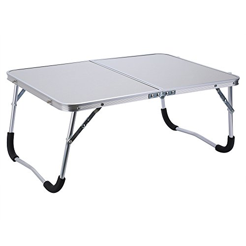 Rehomy Laptop Table Lap Standing Desk for Bed and Sofa Breakfast Bed Tray Laptop Lap Desk