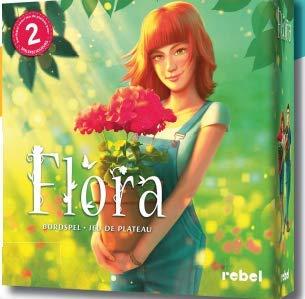 Flora - Bordspel - Kan jij de mooiste bloemen kweken? - Voor de hele famlie - Taal: Nederlands