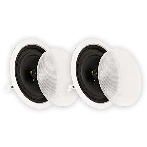 Purchase Theater Solutions CS8C Bluetooth 8 Flush Mount in Ceiling Powered Speaker Pair