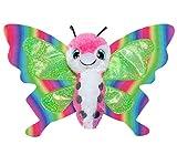 Lumo Stars Sommar Mariposa Felpa Multicolor - Juguetes de peluche (Mariposa, Multicolor, Felpa, 3 año(s), Niño/niña, 150 mm)