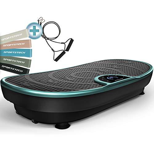Plateforme Vibrante VP250 avec un design élégant   combustion des graisses et développement musculaire   moteur silencieux   7+1 programmes dentraînement, y compris option yoga   avec Bluetooth