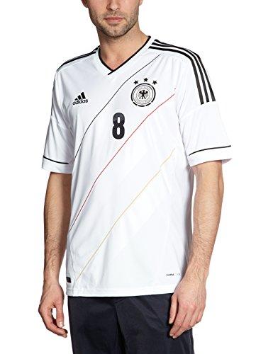 adidas Herren Trainingsshirt DFB Trikot Home Özil EM, Weiß/Schwarz, XXXL