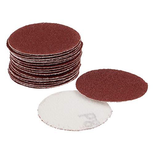 XCQ 20 stücke 2 Zoll 50mm saneer disc schleif Papier polierkissen schleif 80 grit für elektrische maureihe Abrasive Werkzeuge dauerhaft 0404